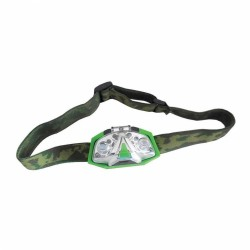 LUMii Green LED Head Torch, čelovka