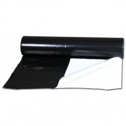 PE zahradnická černobílá fólie, role 2x 100 m