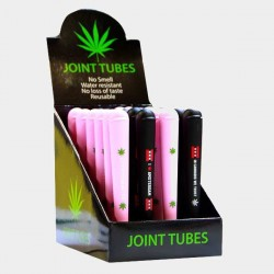 Obal na joint, mix růžové a černé, Kingsize 1ks