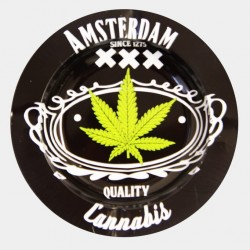 Kovový popelník- Amsterdam XXX