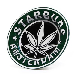Kovový popelník- Starbuds Amsterdam