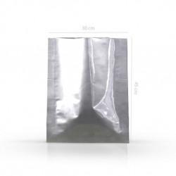 Zažehlovací pytel stříbrný, 300x450 mm