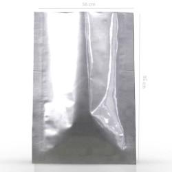 Zažehlovací pytel stříbrný, 560x950 mm