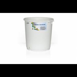 Bílý kyblík pro aquasystem...