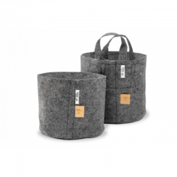 Root Pouch Grey 22 l