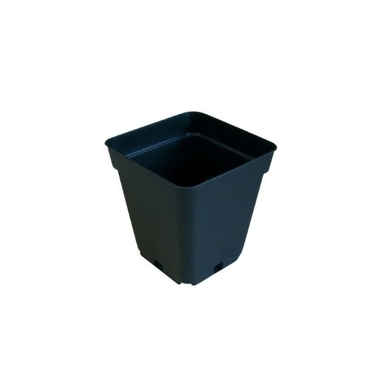 Teku čtyřhranný květináč 20x20x23cm, objem 6,5l
