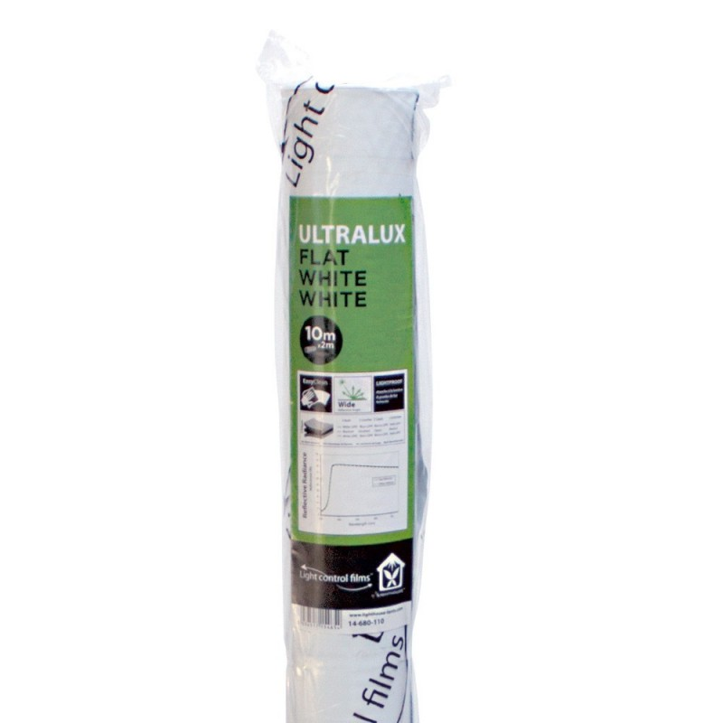 LightHouse ULTRALUX Flat White White 110μm - 1,2x10m