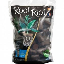 Root Riot 100, samostatná RR kostka bez sadbovače, 100ks