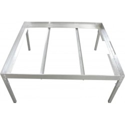 Pevný ocelový stůl pro...