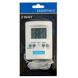 Essentials Thermo Meter, teploměr s pamětí a externí sondou