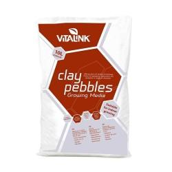 VitaLink Clay Pebbles 10 l, keramzit