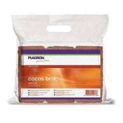 Plagron Cocos Brix 9 l, kokosová briketa 1 ks