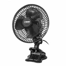 RAM ECO Clip Fan 20W, oscilační klipsnový ventilátor Ø 18 cm
