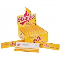 Papírky Flamez yellow normál king size