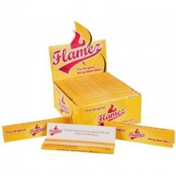 Papírky Flamez yellow normál king size